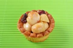 Macadamia nuts tart Royalty Free Stock Photography