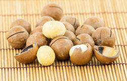Macadamia Nuts Stock Photography