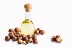 Macadamia oils Stock Photos
