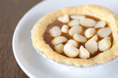 Macadamia tart Stock Photos