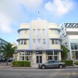 Macaira di stile di art deco in Miami Beach Fotografia Stock