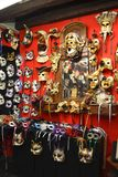 Venice masks. This is  Macana,  one of Venice's oldest and best known  handmade masks shops. The masks are so beautiful that they were chosen by  Stanley Stock Image