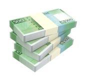 Macanese pataca bills  on white background. Stock Photography