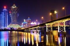 Macao Arkivfoton