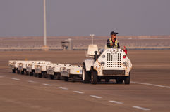 Macao airport service car Stock Photo