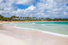 Macao Beach, Dominican Republic. Macao Beach landscape, popular touristic resort of Dominican Republic, Hispaniola Island Royalty Free Stock Photography
