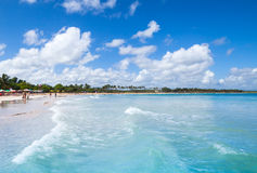 Macao Beach, popular resort of Dominican Republic Stock Photography