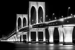 Macao-Brücke Lizenzfreie Stockfotos