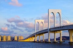 Macao Bridge Stock Images