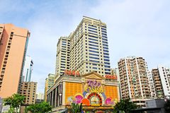 Macao Casino Building, Macau, China Royalty Free Stock Photos