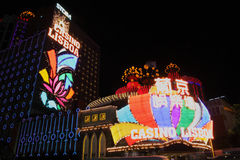Macao: Casino Lissabon Royalty-vrije Stock Fotografie