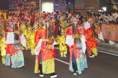 Macao: Celebrazione cinese 2015 del nuovo anno fotografia stock libera da diritti