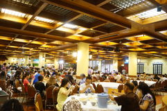 Macao, China: big restaurant Stock Image