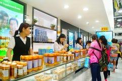 Macao, China: duty free shops Royalty Free Stock Image