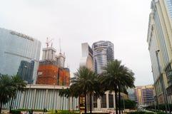 Macao, China: hotel building landscape Stock Photos