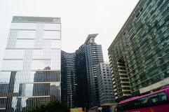 Macao, China: hotel building landscape Royalty Free Stock Photos