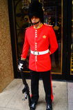 Macao, China: hotel gate guard Royalty Free Stock Photography