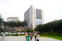 Macao, China: Lotus Square Stock Photo