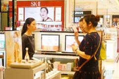 Macao, China: Shopping Plaza Royalty Free Stock Photography