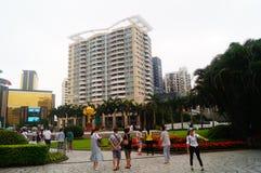 Macao, China: tourists Stock Photos