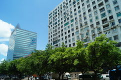 Macao, China: urban buildings landscape Stock Image