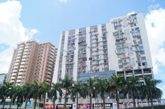 Macao, China: urban buildings landscape Royalty Free Stock Photography