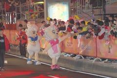 Macao: Chinese Nieuwjaarviering 2015 Royalty-vrije Stock Foto