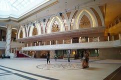 Macao, Cina: Paesaggio dell'interno della città di spettacolo della galassia fotografia stock