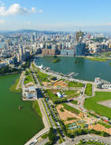 Macao city. View from high Stock Image