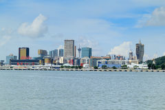 Macao city skyline Royalty Free Stock Image
