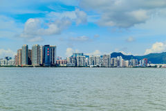 Macao city skyline Stock Photo