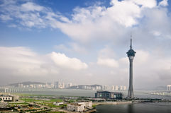 Macao cityscape Royalty Free Stock Photo