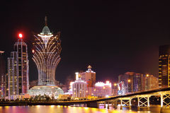 Macao cityscape Royalty Free Stock Photography