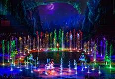 Macao - 20 de noviembre de 2015: La casa del agua del baile Foto de archivo libre de regalías