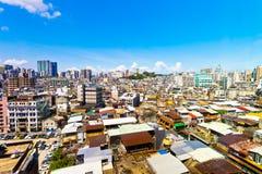 Macao de stad in Stock Foto's