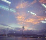 Macao: De Toren van Macao royalty-vrije stock afbeelding
