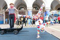 Macao: Den Venetian Carnevalen 2014 Royaltyfria Foton