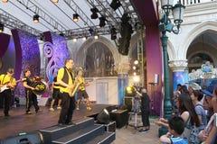 Macao: Der venetianische Carnevale 2014 Stockbild