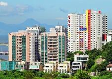 Macao domowy budynek Fotografia Royalty Free