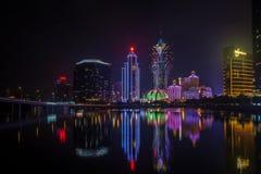 Macao horisont Arkivbilder