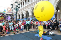 Macao: Il Carnevale veneziano 2014 Fotografie Stock Libere da Diritti