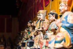 Macao Kina - Feburary 28 th 2016: Tempel i macau royaltyfria foton