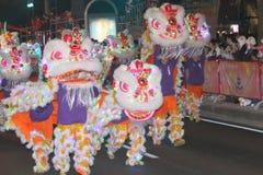 Macao: Kinesisk beröm 2015 för nytt år Arkivbild