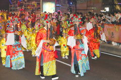 Macao: Kinesisk beröm 2015 för nytt år Royaltyfri Fotografi