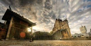 macao landskap fotografering för bildbyråer