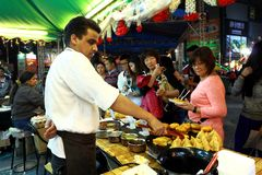 13. Macao-Lebensmittel angemessenes 2013 Stockfotografie