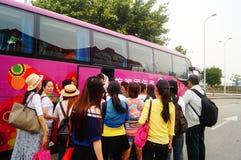 Macao lotus port Stock Photo