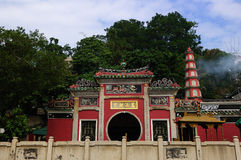 Macao Mazu Court Stock Photography