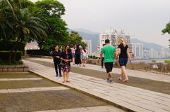 Macao Museum Stock Images