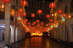 Macao-Nacht am Frühlingsfest Stockbilder